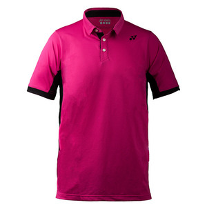 Men`s US Open Wawrinka Tennis Polo Dark Pink