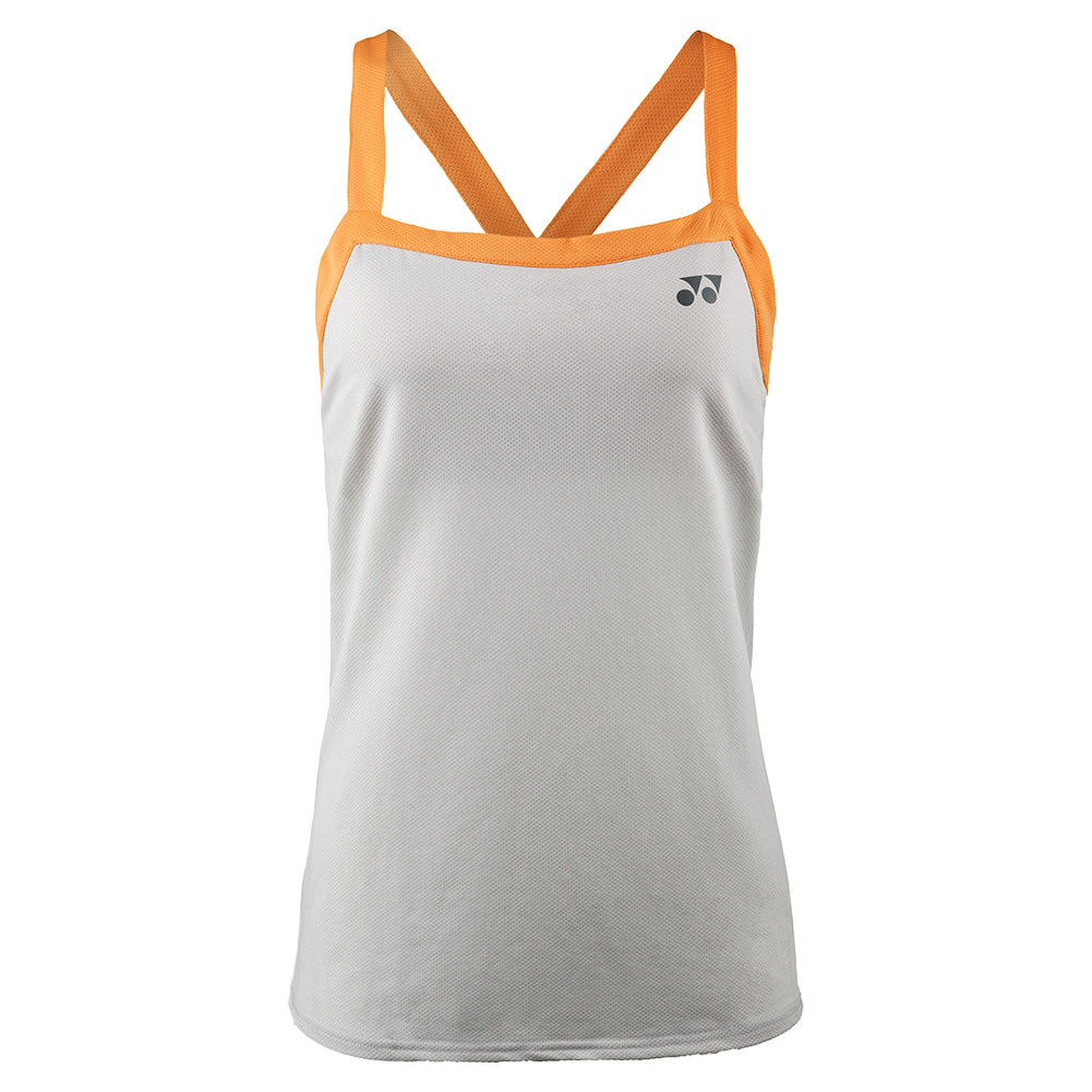 Women's French Open Bencic Tennis Tank Ice Gray