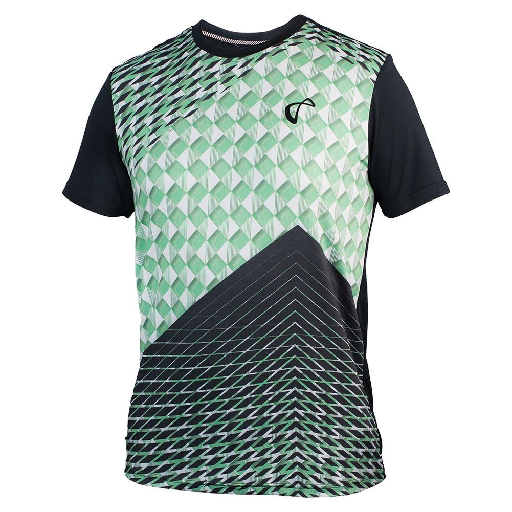 Boys ` Match Tennis Crew Pyramid Green