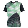 ATHLETIC DNA Men`s Match Tennis Crew Pyramid Green