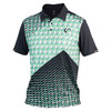 Boys` Match Tennis Polo Pyramid Green by ATHLETIC DNA