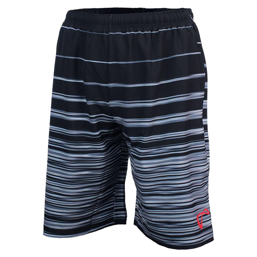 Boys ` Woven Short Hombre Stripe Black