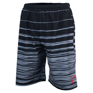 Boys` Woven Short Hombre Stripe Black