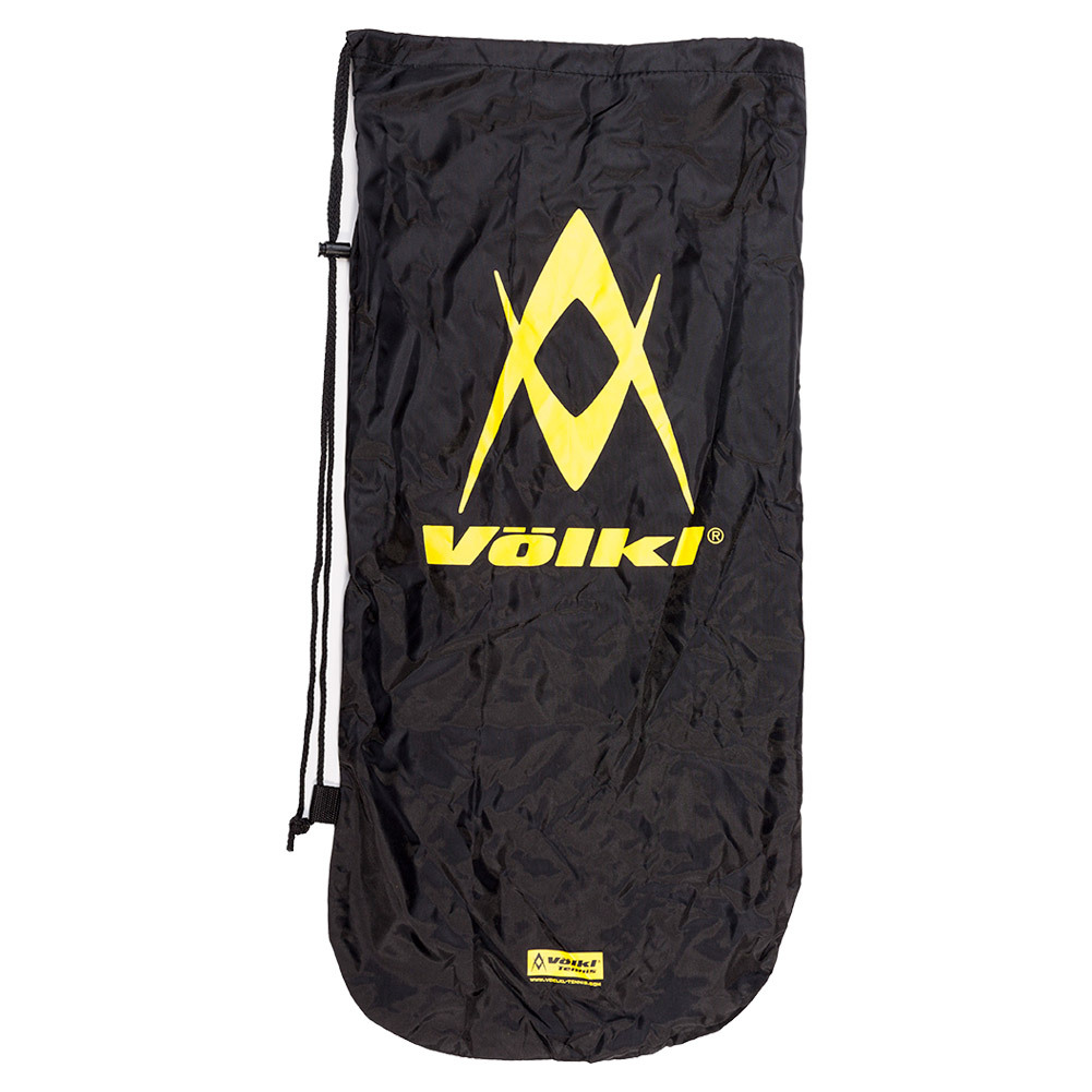 Drawstring Tennis Racquet Cover (Yellow/Black)