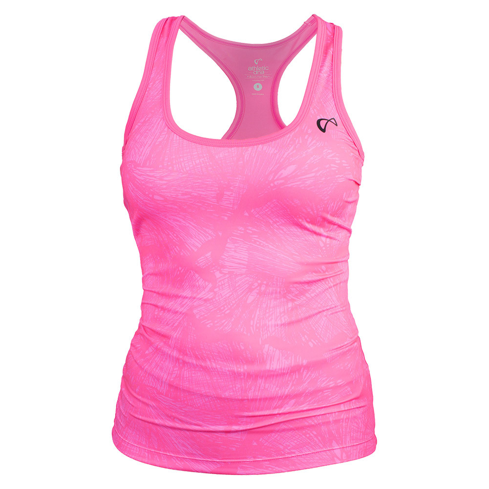 Women's Refresh Tennis Tank Butterfly Pink