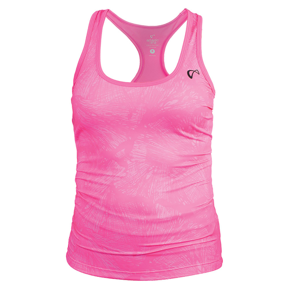 Girls ` Refresh Sport Tank Butterfly Pink