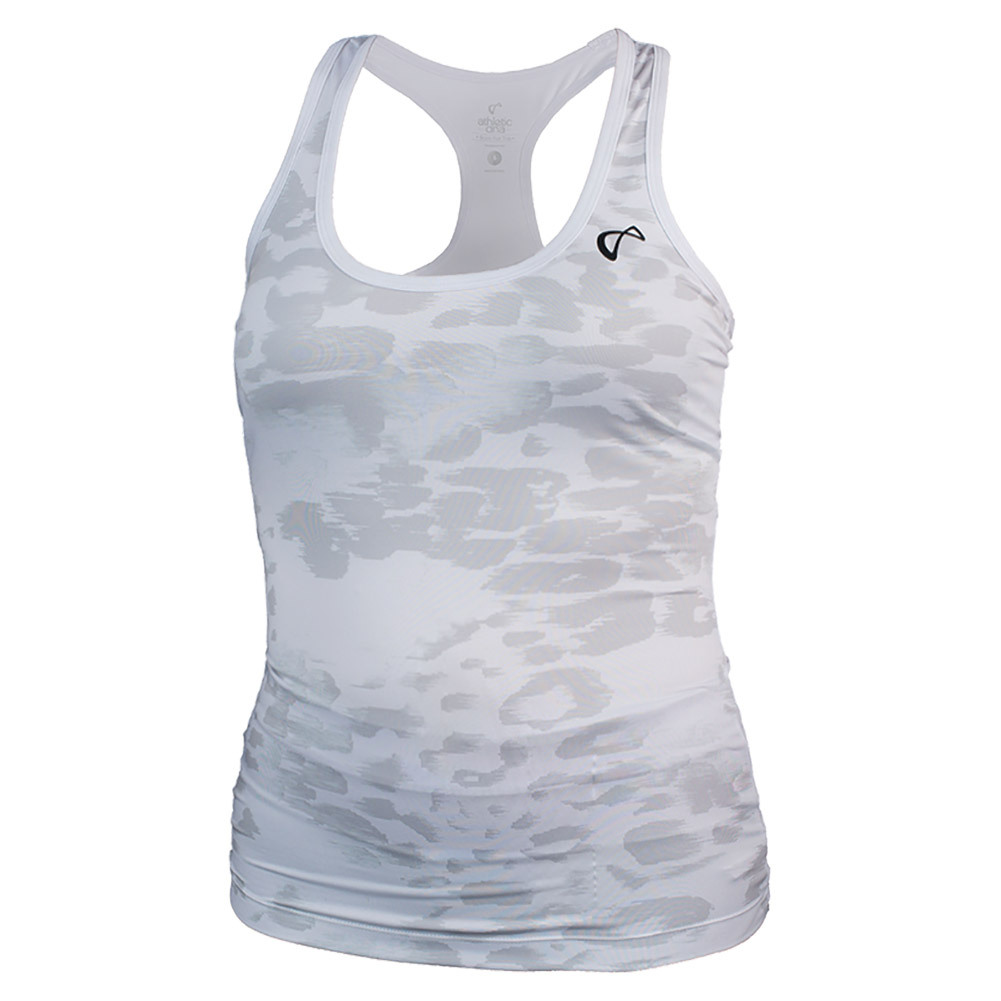Girls ` Refresh Sport Tank Animal Instinct White