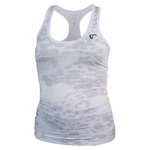 ATHLETIC DNA GIRLS REFRESH SPORT TANK ANIMAL INST WHT