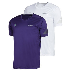 Men`s Wimbledon Perf Crew Neck Tennis Tee