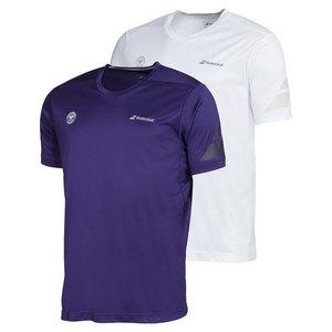 Men`s Wimbledon Perf Crew Neck Tennis Tee