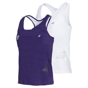 Girls` Wimbledon Racerback Tennis Tank