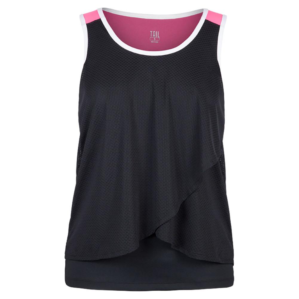 Women's Tiana Tennis Tank Black