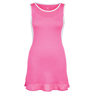 Women`s Safiya Tennis Dress Siren Pink