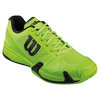 WILSON Men`s Rush Pro 2.0 Tennis Shoes Granny Green and Black