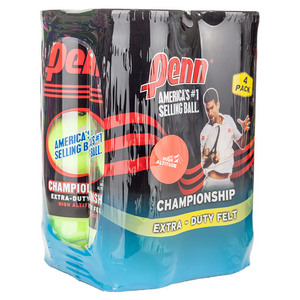 Champ Extra-Duty High-Altitude 4 Pack Tennis Balls