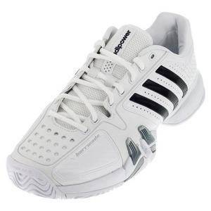 Men`s Adipower Barricade 7 ND Tennis Shoes White/Black