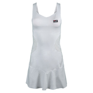 FILA WOMENS MB TROPHEE TENNIS DRESS WHITE