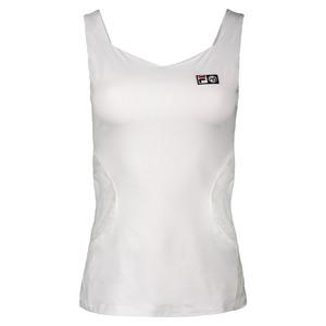 Women`s Marion Bartoli Trophee Tennis Tank White