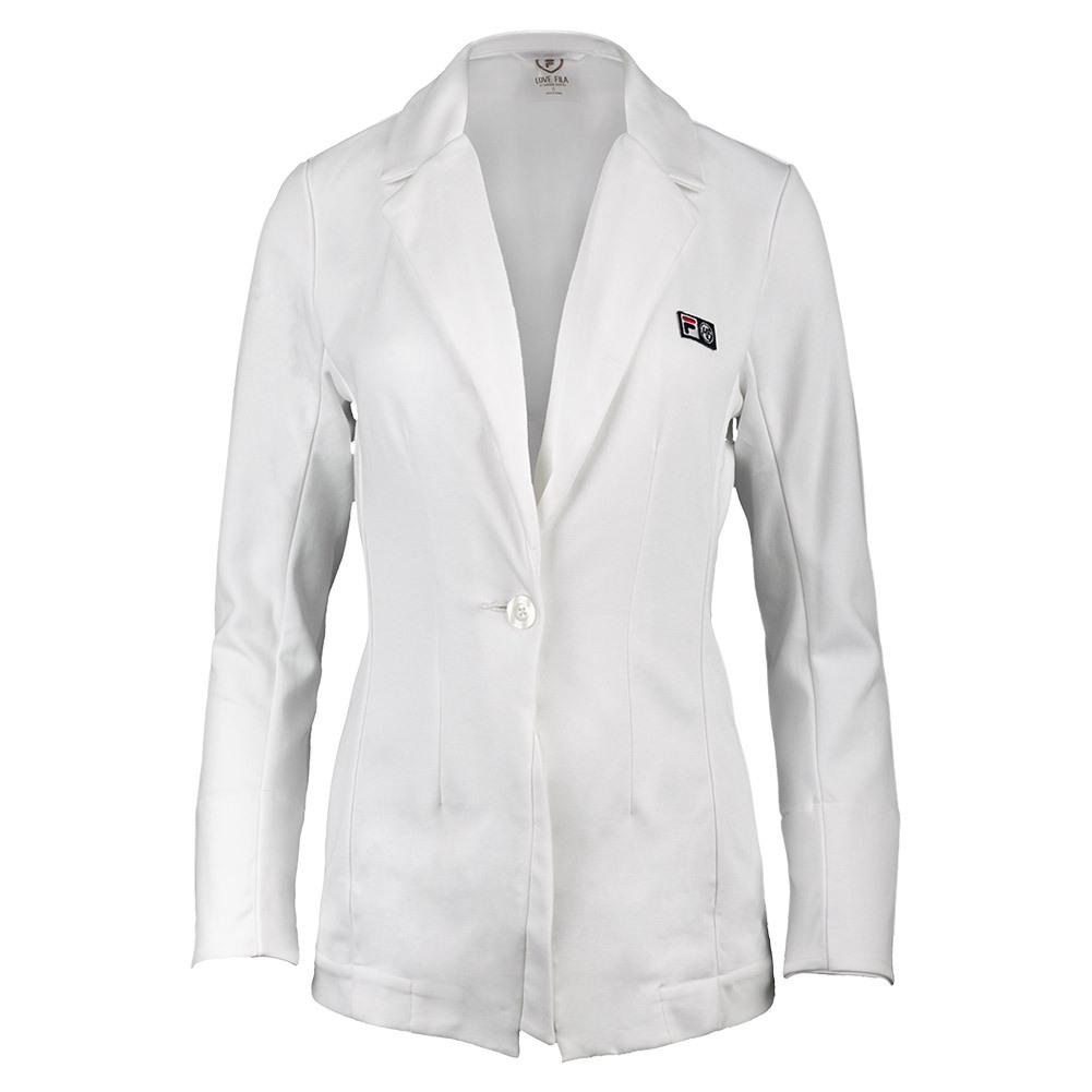 Women's Marion Bartoli Tennis Blazer White