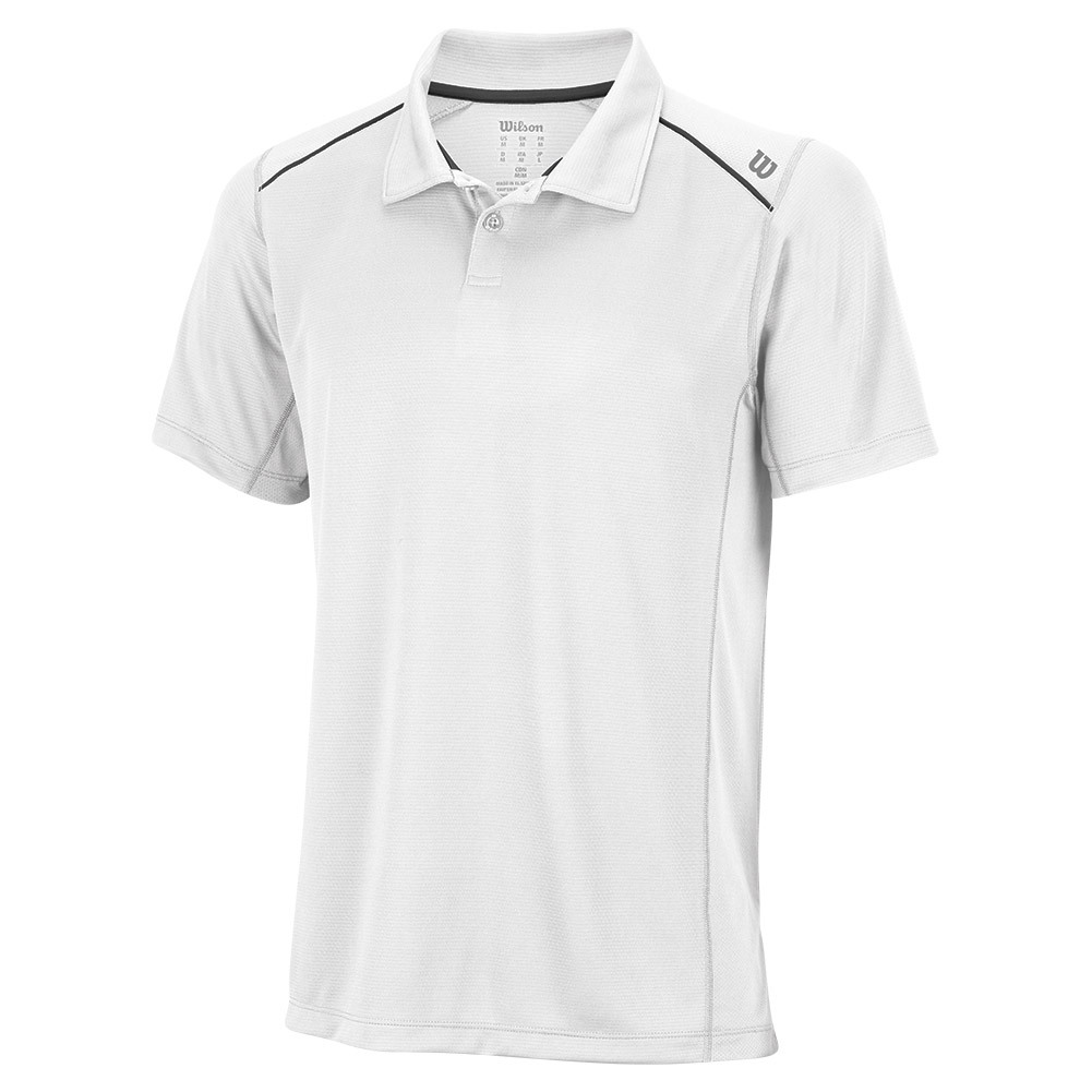 Men's Nvision Elite Tennis Polo White