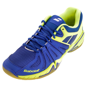 Men`s Shadow Spirit Tennis Shoes Blue and Yellow