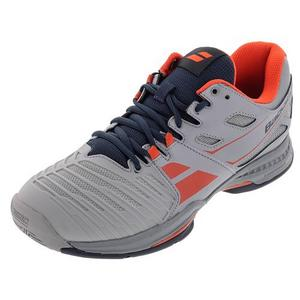 Men`s SFX 2 All Court Tennis Shoes Gray and Red