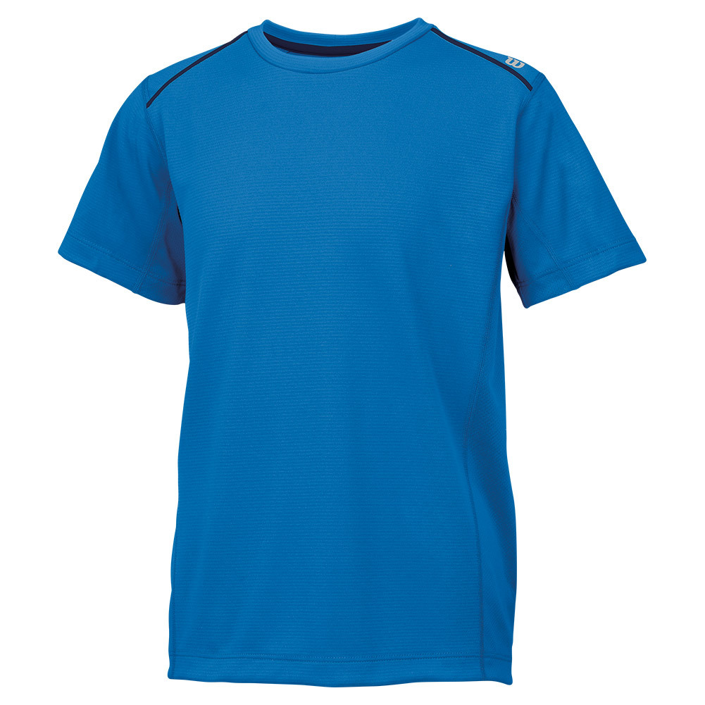 Boys ` Nvision Elite Tennis Crew Neptune Blue