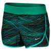 Girls` Dry Running Short 390_TEAL_CHARGE
