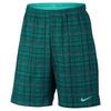 Men`s Court 9 Inch Plaid Tennis Short 351_RIO_TEAL/HY_JADE