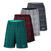 NIKE Men`s Court 9 Inch Plaid Tennis Short