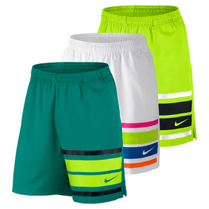 Men`s Court Graphic 9 Inch Tennis Short