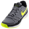 Men`s Air Vapor Advantage Tennis Shoes Stealth and Black by NIKE