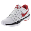 NIKE Men`s Air Vapor Advantage Tennis Shoes White and Black