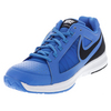 NIKE Men`s Air Vapor Ace Tennis Shoes Photo Blue and White