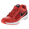 NIKE Men`s Air Vapor Ace Tennis Shoes Light Crimson and White