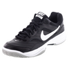 NIKE Men`s Court Lite Tennis Shoes Black and Medium Gray