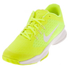 NIKE Women`s Air Zoom Ultra Tennis Shoes Volt and White