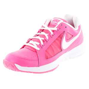 Women`s Air Vapor Ace Tennis Shoes Hyper Pink and White