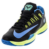 NIKE Men`s Lunar Ballistec 1.5 Tennis Shoes Black and Rage Green