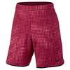 Men`s Gladiator 9 Inch Printed Tennis Short 620_NOBLE_RED/BLK