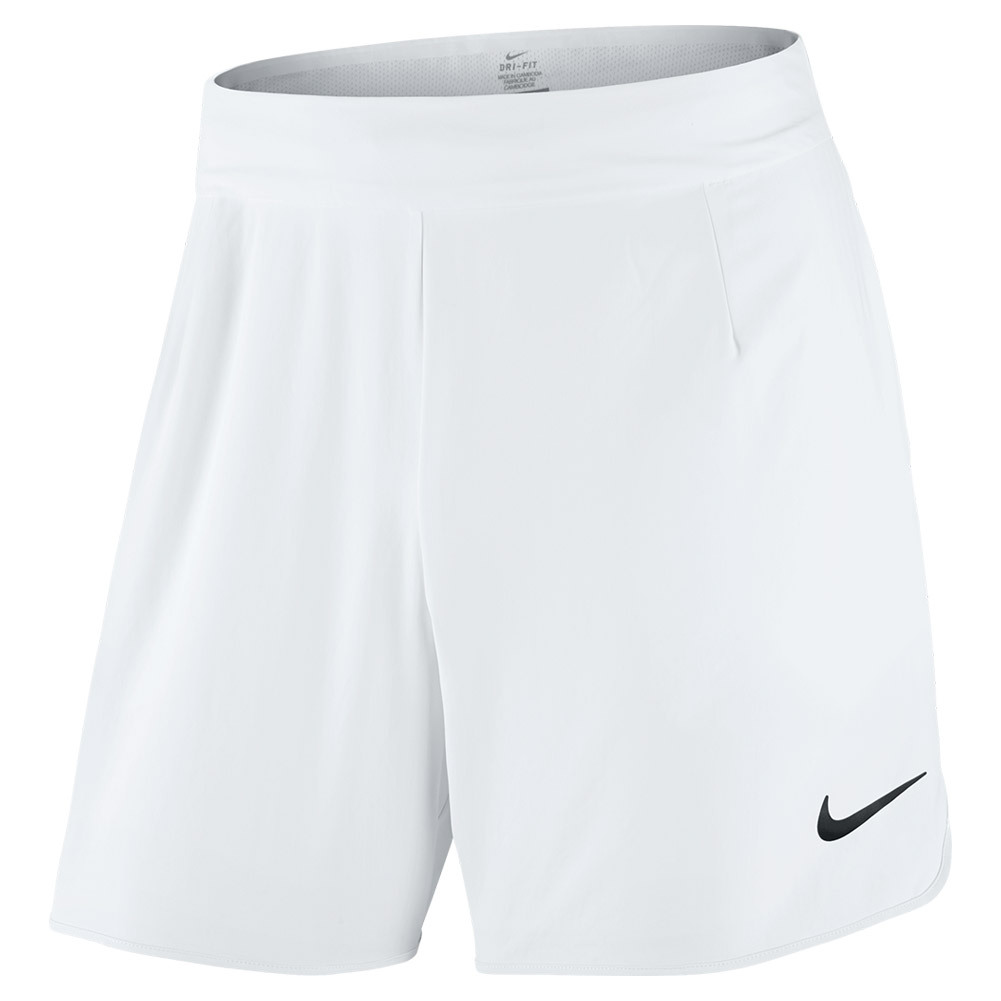 Men's Gladiator Premier 7 Inch Tennis Short White