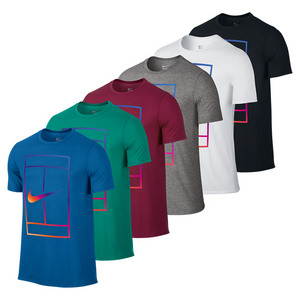 Men`s Irridescent Court Tennis Tee