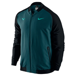 Men`s Rafa Premier Tennis Jacket Midnight Turq