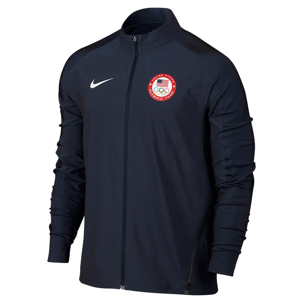 Men's Team Usa Jacket Obsidian