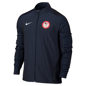 NIKE MENS TEAM USA JACKET OBSIDIAN