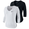 NIKE Women`s Pure 3/4 Sleeve Tennis Top