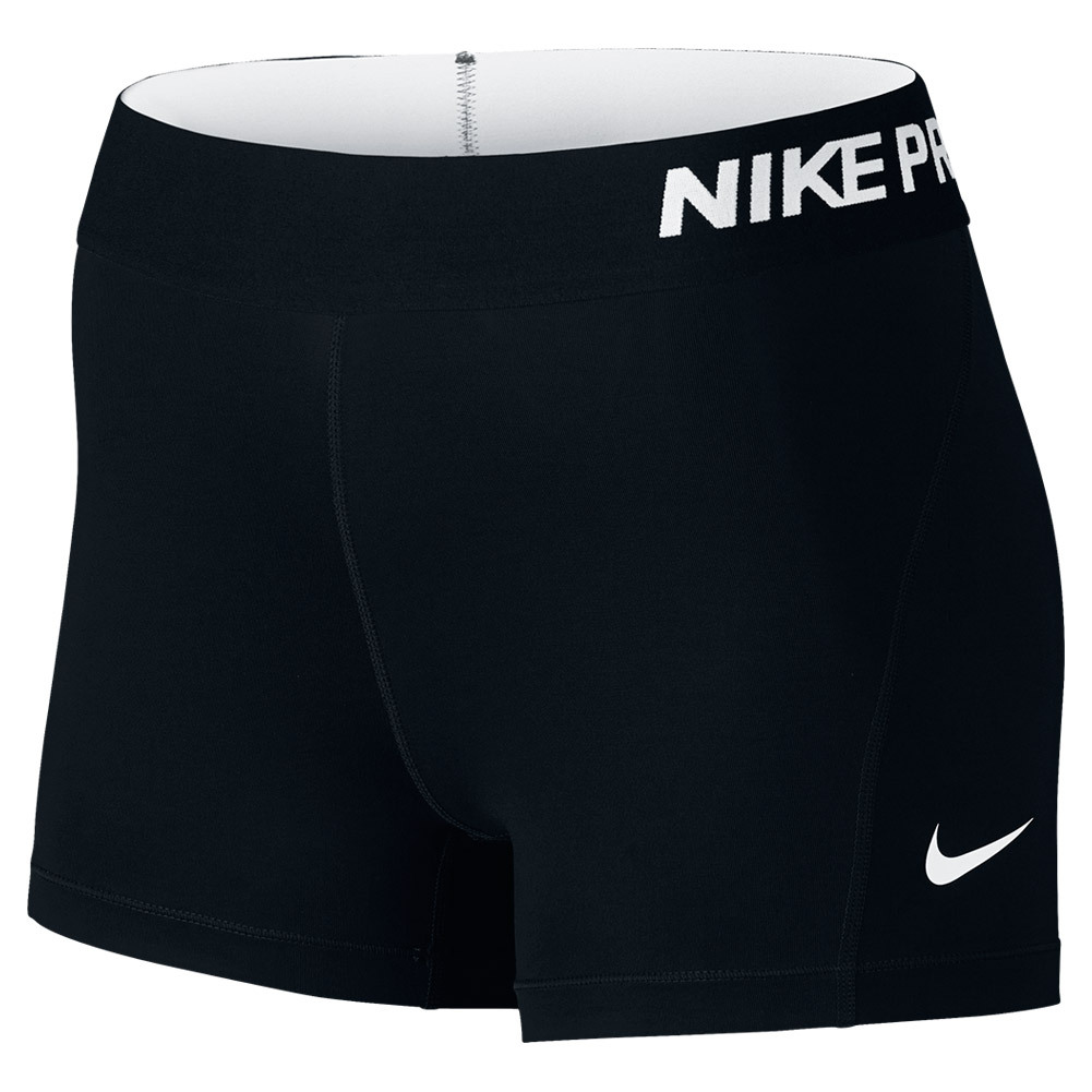 Women's Pro Cool 3 Inch Short Black