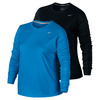 NIKE Women`s Dry Miler Running Top