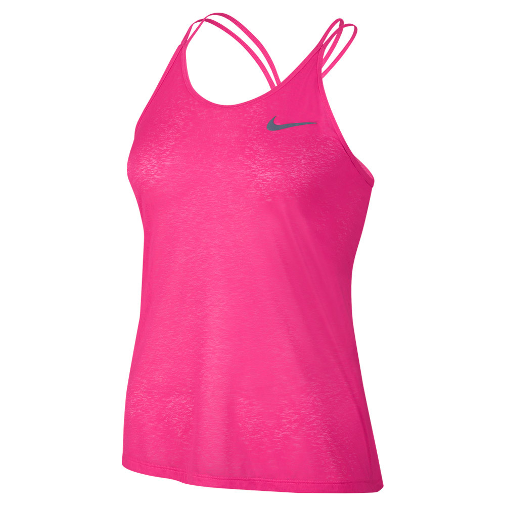 Women's Dry Running Tank Hyper Pink