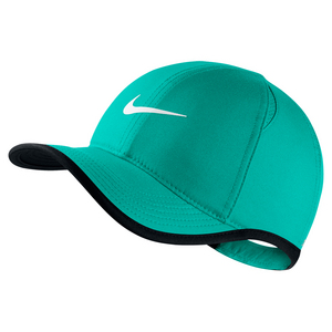 Young Athletes` Featherlight Adjustable Tennis Cap Washed Teal